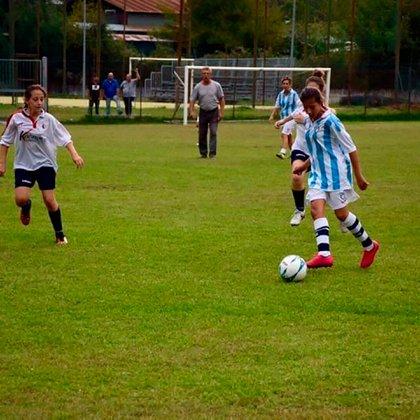 Ilenia Matilli es jugadora de la Lazio pero fanática de la Roma.