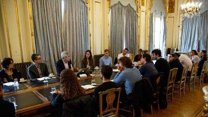 Este año llegó a Buenos Aires para participar de actividades organizadas por Argentina 2030 (Presidencia de la Nación)