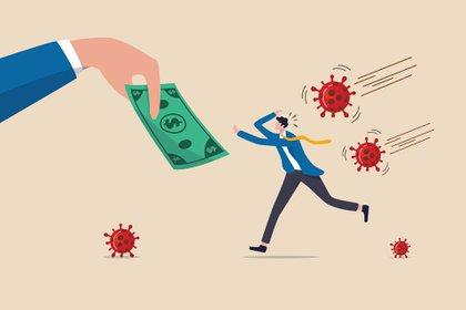 Las preocupaciones más frecuentes eran que la pandemia conducir a una gran crisis económica (62%) y las pequeñas empresas quebrarían (55%) (Shutterstock)
