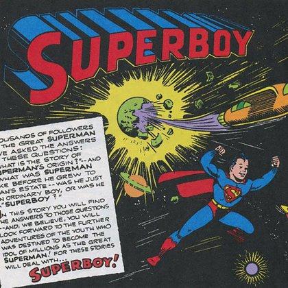Superboy, la otta historieta de Jerry Siegel y Joe Shuster que se convirtió en éxito