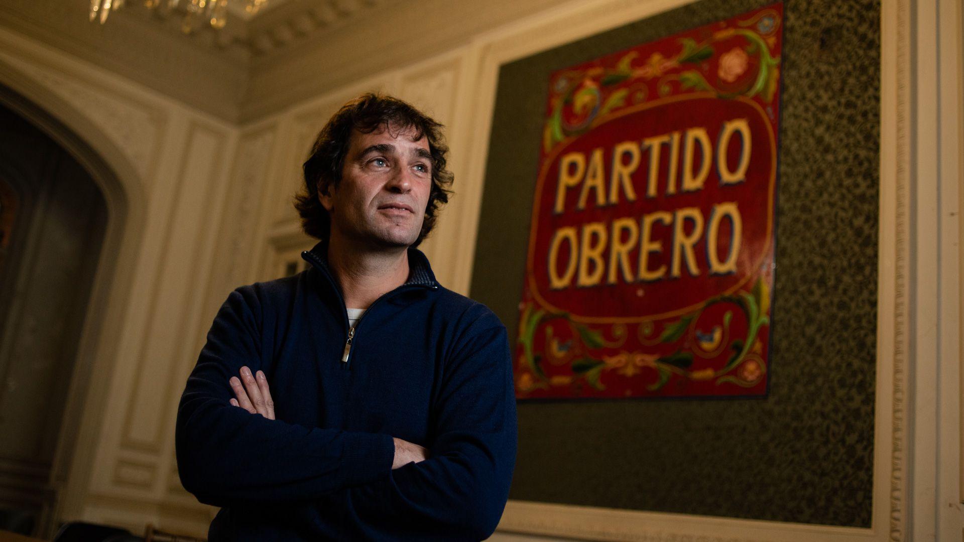 Gabriel Solano . Partido Obrero