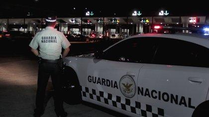 El camión quedó bajo el resguardo de la Guardia Nacional y de elementos de la FGJEM (Foto: GN)