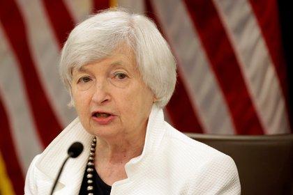 Janet Yellen, secretaria del Tesoro de Estados Unidos (Foto: Reuters)