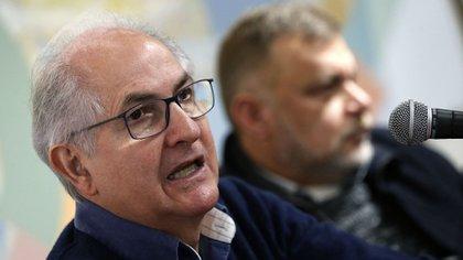 El ex alcalde de Caracas, Antonio Ledezma, se encuentra exiliado en España (EFE)