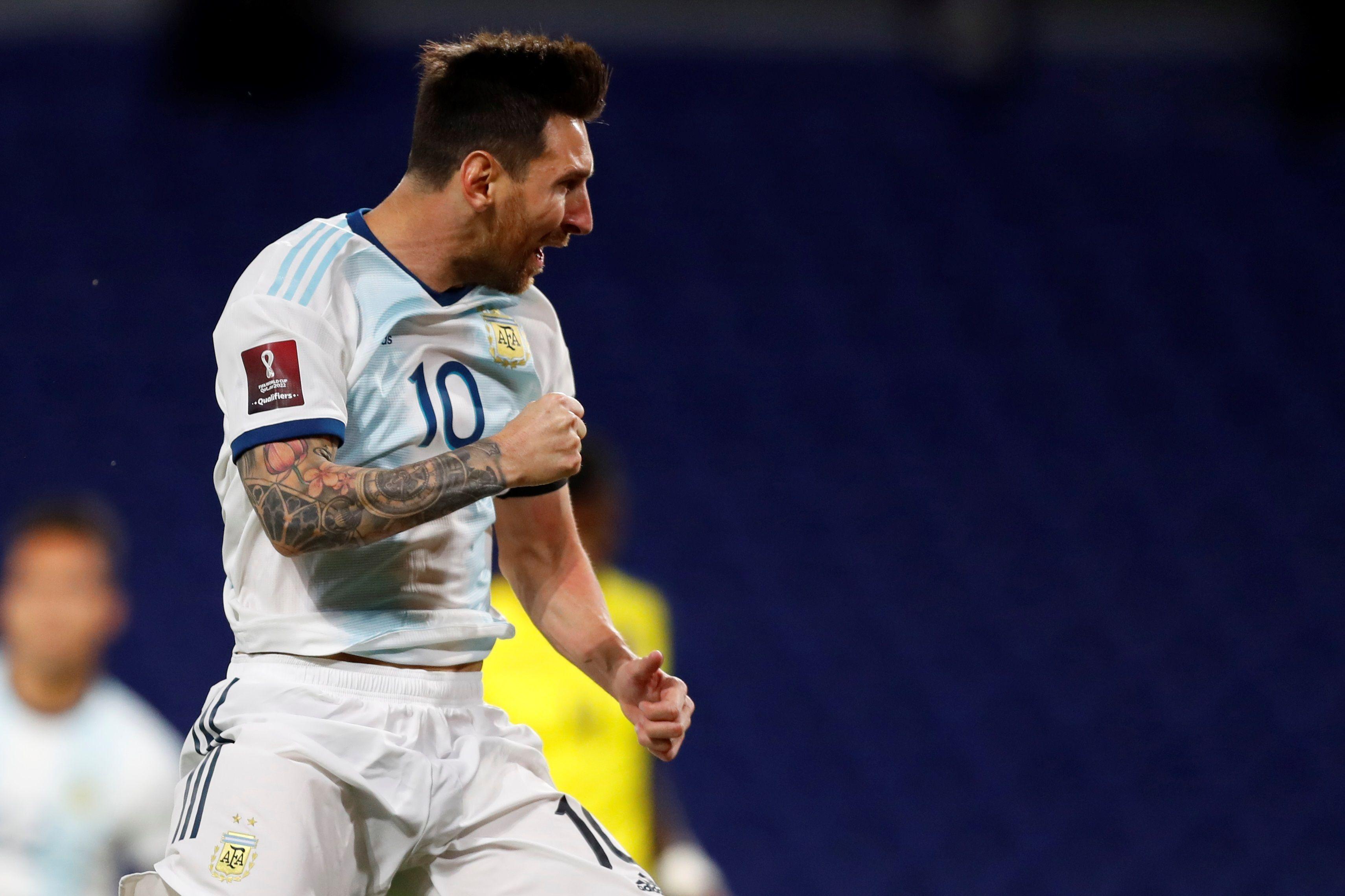 Messi lleva 22 goles en Eliminatorias y 71 gritos con la selección argentina (EFE)