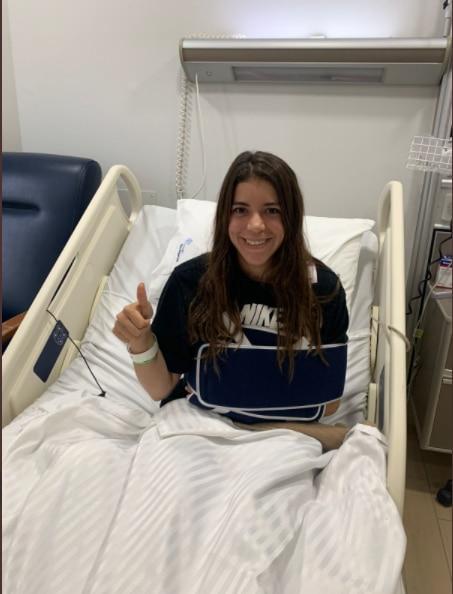 Alejandra Orozco fue sometida a una cirugía (Foto: COM)