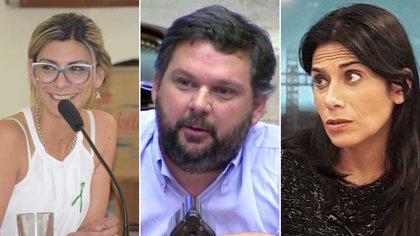 SUB-50. Ayelen Sposito, Santiago Igon y Flavia Morales.