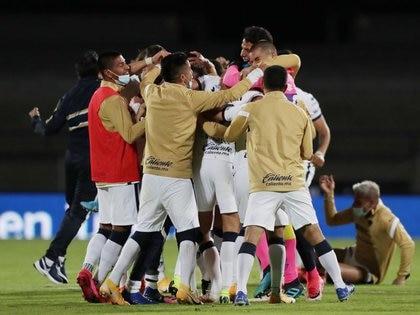 Los Pumas de la UNAM lograron una milagrosa hazaña este domingo ante Cruz Azul en las semifinales de la Liga MX (Foto: Henry Romero/ Reuters)