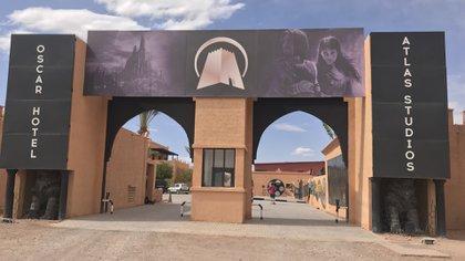 Los estudios de cine en Ait Ben Haddou, uno de los más famosos en Marruecos