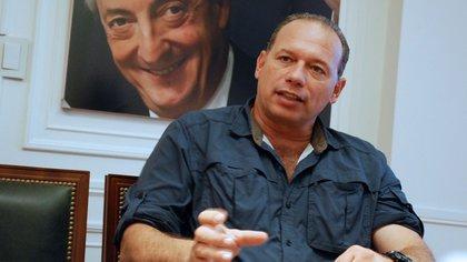 Sergio Berni, ministro de Seguridad de Buenos Aires (NA)