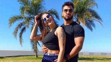 Ivana Nadal y Bruno Siri (Foto: Instagram)