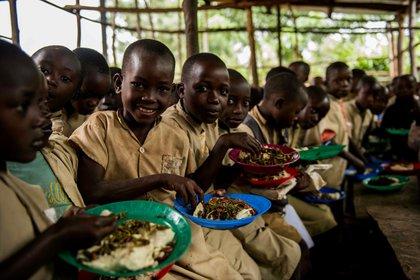 Un comedor escolar apoyado por el PMA en Burundi (Europa Press)