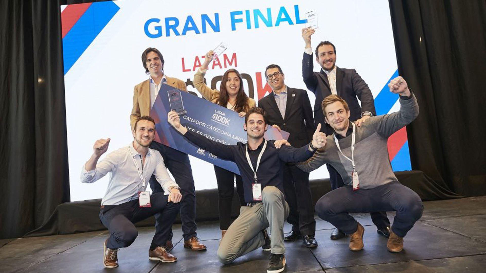 Los ganadores de la primera edición en 2018