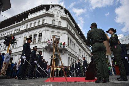 Vista de la Asamblea Departamental del Valle del Cauca durante un acto de conmemoración, en Cali (Colombia). EFE/ Ernesto Guzmán Jr./Archivo