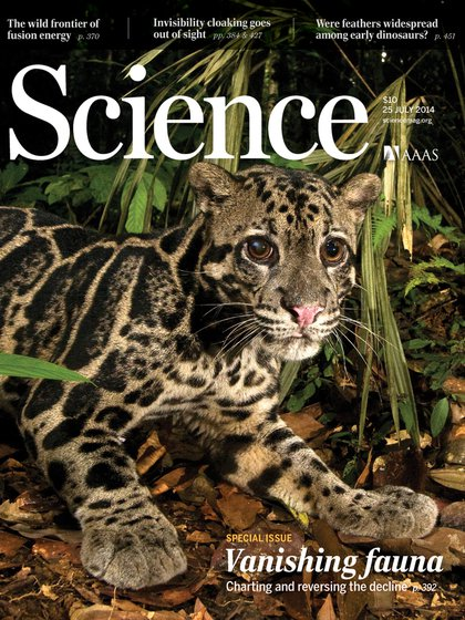En 2014, la revista Scicence ya había alertado sobre la sexta extinción masiva (Science)