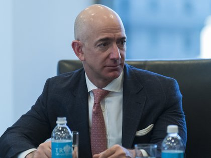 Jeff Bezos, fundador y director ejecutivo de Amazon (EFE/ Albin Lohr-Jones/ archivo)