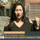 La periodista Madelein García, una de la cornistas principales de Telesur, fue descubierta en Cúcuta sin su credencial junto a los cronistas y camarógrafos que se hicieron pasar por un equipo de la TV chilena