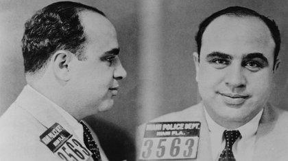 La foto tomada por la policía de Miami en 1931(Shutterstock)
