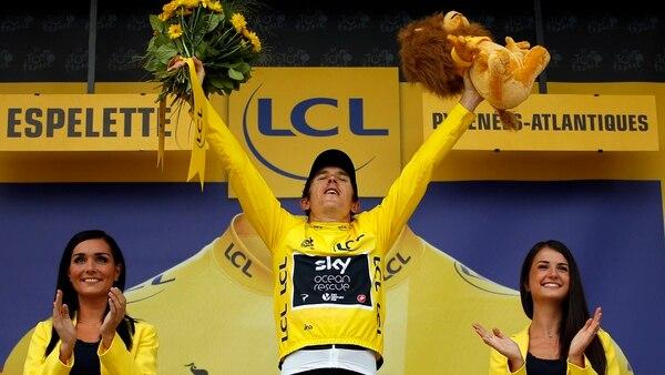 Geraint Thomas es el virtual campeón del Tour de France (REUTERS)