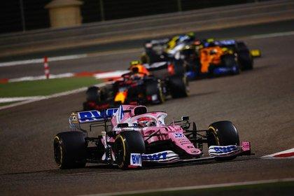 Sergio le dio a Racing Point el primer GP el pasado fin de semana en el GP de Sahkir (Foto: Instagram / schecoperez)