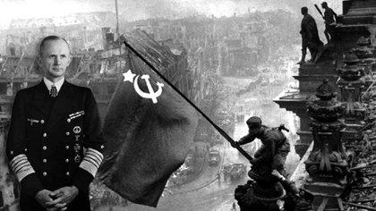 El almirante Karl Dönitz, el inesperado Führer alemán tras el suicidio de Hitler y la captura de Berlín por parte del Ejército Rojo