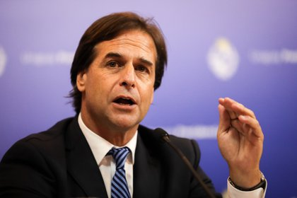 El presidente de Uruguay, Luis Lacalle Pou. EFE/ Raúl Martínez/Archivo