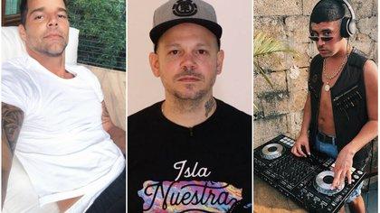 Figuras puertorriqueñas alzaron su voz contra Rosselló (Instagram: rickymartin, residente, badbunnypr)