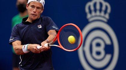 Remontada y triunfo de Diego Schwartzman en su debut en el Barcelona Open
