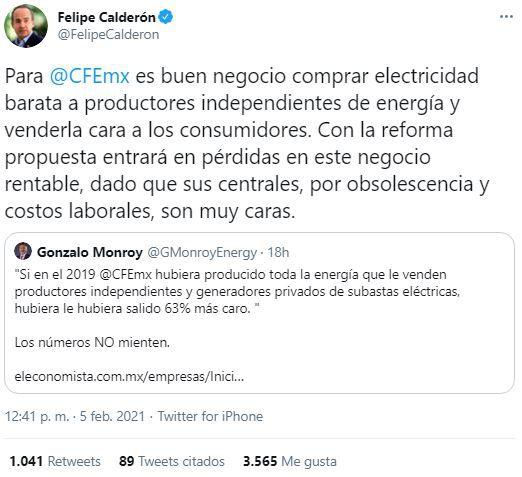 Felipe Calderón vs Rocío Nahle