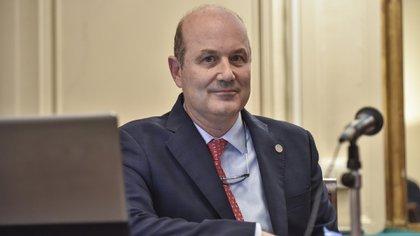 Federico Sturzenegger, primer presidente del BCRA de la gestión Cambiemos (Guille Llamos)