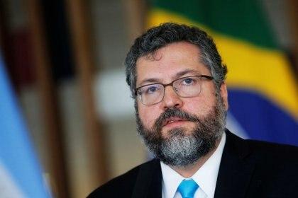 El canciller brasileño Ernesto Araújo denunció las atrocidades del régimen chavista