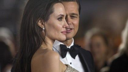 El idilio de Brad Pitt y Angelina terminó en 2016 (REUTERS)