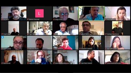 Reunión virtual del Comité Nacional de la UCR