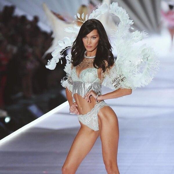 Tras su desfile como ángel de Victoria Secret, Bella Hadid recibió una oleada de críticas (Foto: @bellahadid)