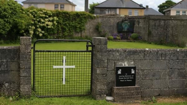 El sitio donde fueron encontrados los restos de los niños (Getty Images)