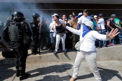 Imagen de archivo de una protesta en Managua contra el presidente de Nicaragua, Daniel Ortega, el 14 de octubre de 2018. REUTERS/Oswaldo Rivas