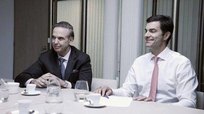 Miguel Pichetto y Juan Manuel Urtubey