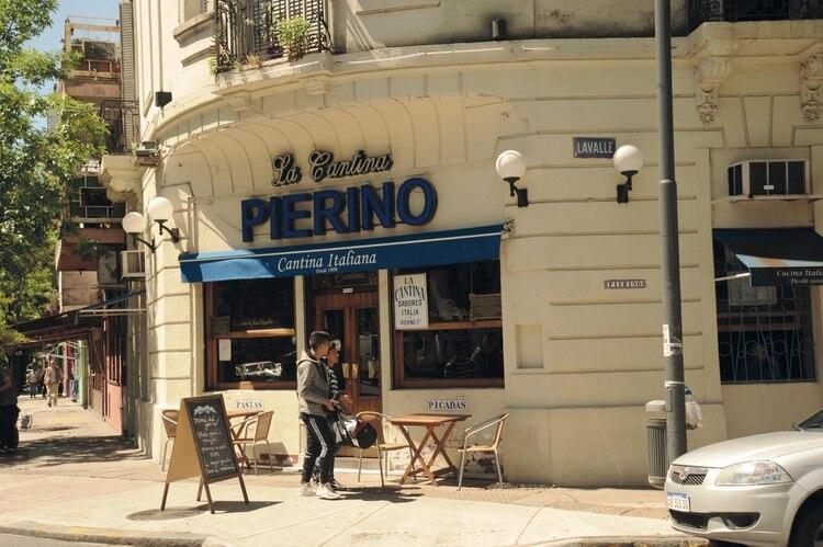 Las pastas de Pierino, un clásico del circuito. Fotos Ariel Gutraich/Para Ti