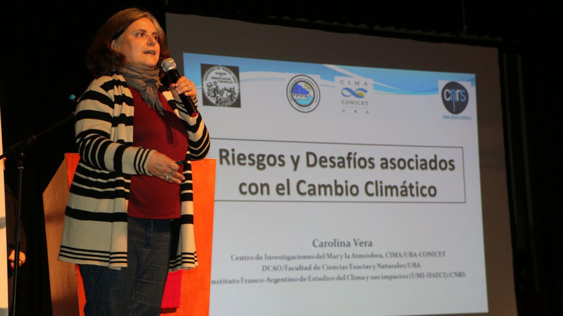 Vera afirmó que este es un reconocimiento a la investigación, desarrollo y comunicación de las ciencias de la atmósfera (UBA)