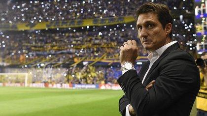 Guillermo Barros Schelotto, ante el objetivo más importante de su carrera (Foto: AFP)