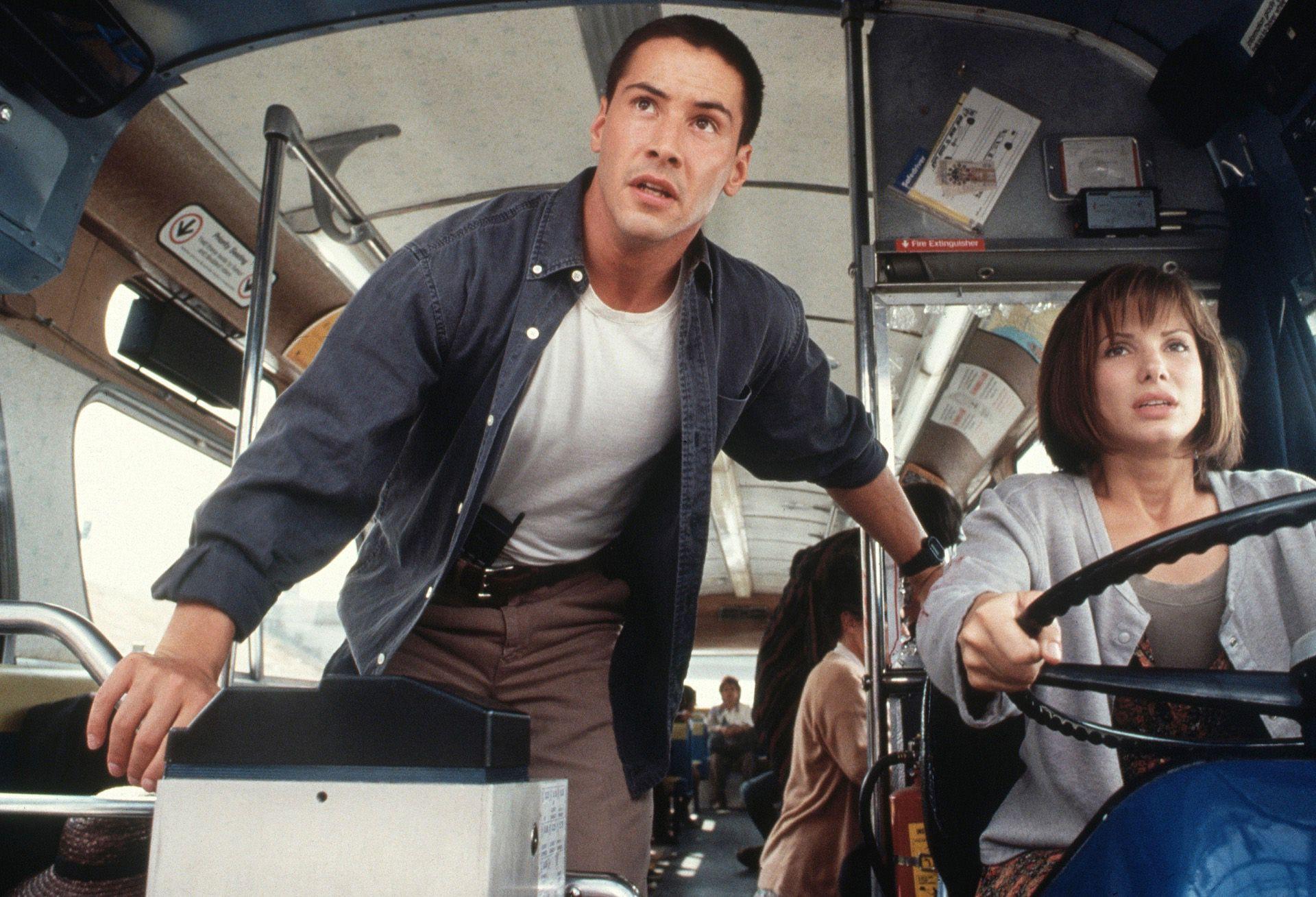 """""""Evidentemente Sandra Bullock no sabía que yo estaba enamorado de ella"""", confesó Keanu sobre sus tiempos de coprotagonistas en Máxima Velocidad."""