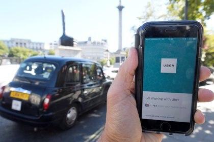 Uso de la app en la capital británica (Reuters)