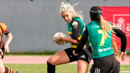 Laura Alonso, la jugadora de rugby que se defendió ante un ataque de parte de un ladrón (Club XV Hortaleza)