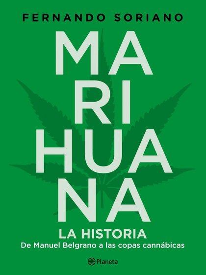 """Portada de """"Marihuana"""", de Fernando Soriano (Planeta)"""