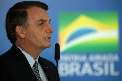 En la imagen el presidente de Brasil Jair Bolsonaro. EFE  Joédson Alves  Archivo