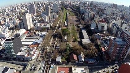 Los inmuebles ferroviarios del barrio de Colegiales darán paso a un proyecto urbanístico
