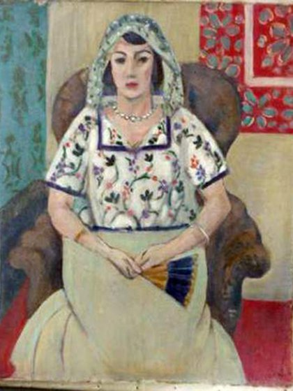 """""""Mujer sentada"""", de Henri Matisse"""