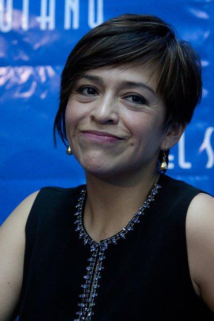 Anabel Hernández vive fuera de México porque no hay condiciones de seguridad para ella y su familia, tras sus reportajes donde revela los nexos del narcotráfico con la política (FOTO: IVçN STEPHENS/CUARTOSCURO.COM)