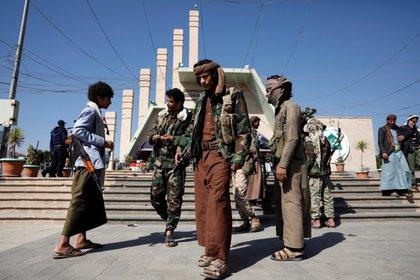 Sana. (Yemen). EFE/EPA/YAHYA ARHAB