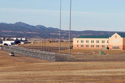 La prisión Supemax en Florence, Colorado, donde se encuentra el Chapo (Foto: REUTERS/Rick Wilking)